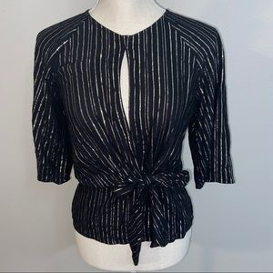 Gold Stripe Express Blouse